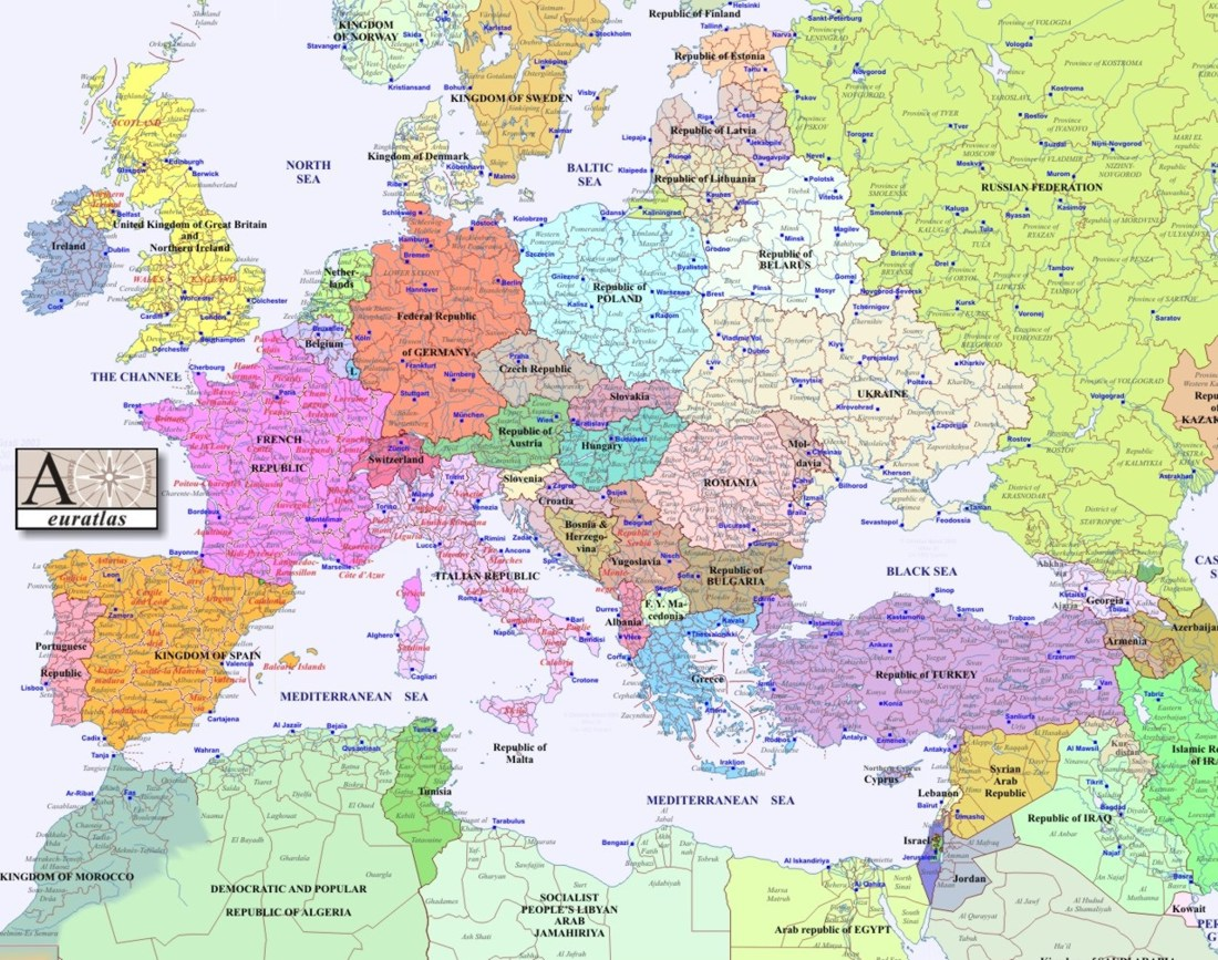 Interactive Historical Map Of Europe - Egypt interactive map